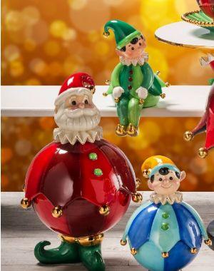Scatola Babbo Natale 18020