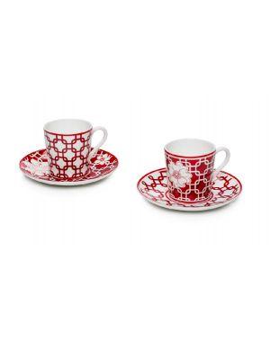 Set 2 tazze caffè con piattino Palais Royal Boutique 36817